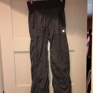 Lululemon dark grey studio pant